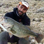 bass espagnol pris au Mousty 125F